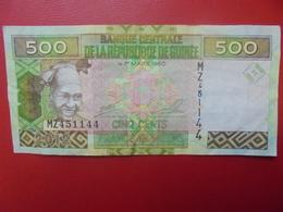 GUINEE 500 FRANCS 2012 CIRCULER (B.9) - Guinée