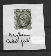 BERGHEIM Cachet Perlé Du 25 Janvier 1867 - Alsace-Lorraine