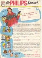 Pub Reclame - De Philips Koerier - Jozef Santens - Aalter 1952 - Publicités