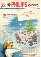 Pub Reclame - De Philips Koerier - Jozef Santens - Aalter 1953 - Publicités