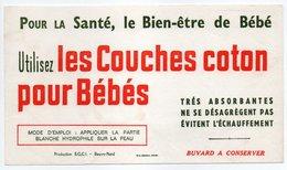 - BUVARD COUCHES Coton Pour Bébés - Production S.G.C.I. - Beuvry-Nord - - Carte Assorbenti