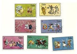 1969 - Cuba 1319/25 Mondiali Di Scherma - Scherma