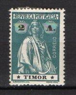 PORTUGAL/TIMOR ( POSTE ) : Y&T  N°  166  TIMBRE  NEUF  AVEC  TRACE  DE  CHARNIERE , A  VOIR . - Timor