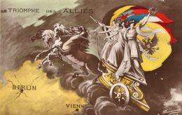 B62006 Cpa Militaire - Le Triomphe Des Alliés - Militaria