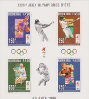BURKINA FASO : BLOCS FEUILLETS JEUX OLYMPIQUES D'ATLANTA 1996 - Sommer 1996: Atlanta