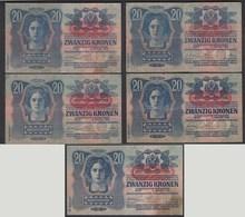 Österreich - Austria 20 Kronen 1913 Pick 53 - 2.Auflage  (25694 - Oostenrijk