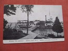 Steamer  St Lawrence  Grenell Dock NY     Ref 3740 - Dampfer