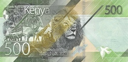 KENYA P. NEW 500 S 2019 UNC - Kenia