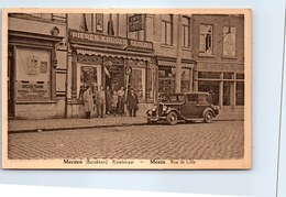 Belgique - FLANDRE OCCIDENTALE - MENIN - Café AU SABOT - Menen