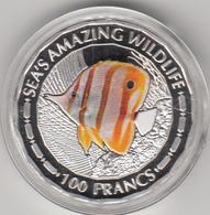 Burundi - 100 Francs 2015 - Sea's Amazing Wildlife. - Burundi