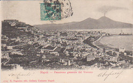 1903 Napoli   Panorama Générale Dal Vomero    (vers Camp De Servières Tunisie ) - Napoli (Naples)