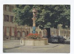 SUISSE BIEL BIENNE FONTAINE MINI AUSTINE  - RECTO/VERSO - B83 - Turismo
