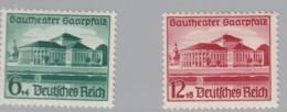 DR  673-674, Postfrisch *, Gautheater Saarpfalz 1938 - Neufs