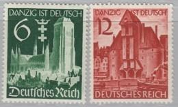 DR  714-715, Postfrisch *, Danzig 1939 - Neufs