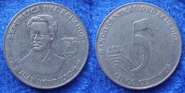 """ECUADOR - 5 Centavos 2000 """"Juan Montalvo"""" KM# 105 Reform Coinage (2000) Coin - Ecuador"""