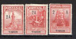 PORTUGAL/TIMOR ( POSTE ) : Y&T  N°  206/208  TIMBRES  NEUFS  AVEC  TRACE  DE  CHARNIERE , A  VOIR . - Timor