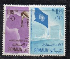 XP239 - SOMALIA 1960 , Serie 2/3  ** MNH (2380A) - Somalia (1960-...)