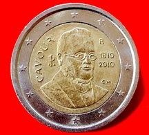 ITALIA - 2010 - Moneta - 200 Anni Della Nascita Di Camillo Benso, Conte Di Cavour - Euro - 2.00 - Italia