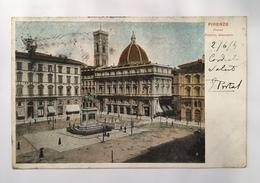 V 11324 Firenze - Piazza Vittorio Emanuele - Firenze