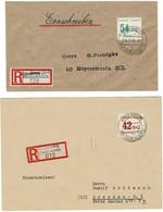 1946, Spremberg, 2  Reko-Bfe. , A2690 - Soviet Zone