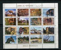 UMM AL-QIWAIN- Lot De Timbres Oblitérés (animaux) - Stamps