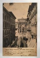 V 10325 Firenze - Piazza Vittorio Emanuele Dall' Hotel Stella D' Italia - Firenze