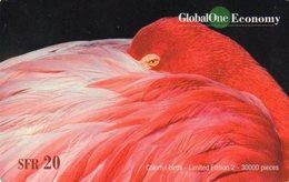 SWITZERLAND - GLOBAL ONE ECONOMY - THEMATIC ANIMALS - BIRDS MACAW - Suisse