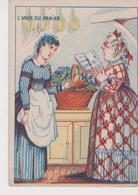 L'ANSE DU PANIER  . IMPRIMERIE BERNARD 2 RUE DE COMPIEGNE PARIS - Trade Cards
