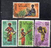 XP2071 - SOMALIA 1961 , Quattro Valori Diversi Usati (2380A) - Somalia (1960-...)