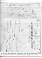 ITALIE Lettre Franchise CANCELLIERE DI LOJANO 1807 - Italia