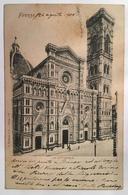 V 11330 Firenze - La Cattedrale Nel 1900v 10330 Firenze - La Cattedrale Nel 1900 - Firenze (Florence)