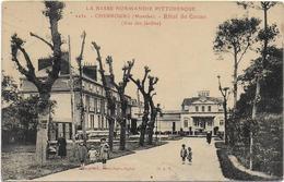 CPA - CHERBOURG - HOTEL DU CASINO ( VUE DES JARDINS ) - N°2232 - ANIMEE - Cherbourg