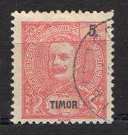 PORTUGAL/TIMOR ( POSTE ) : Y&T  N°  102  TIMBRE  BIEN  OBLITERE , A  VOIR . - Timor