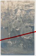 Vervins Werven - April 1915 - Landsturm Infanterie Bataillon Weissenfels - Landsturmmänner Beim Essen - Vervins