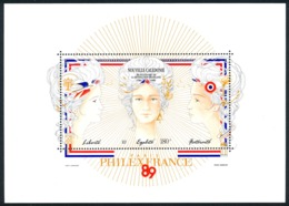 NOUV.-CALEDONIE 1989 - Yv. BF 9 **   Cote= 7,90 EUR - Révolution Française  ..Réf.NCE24652 - Blocs-feuillets