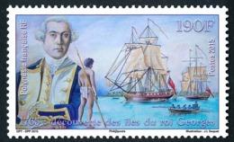 POLYNESIE 2015 - Yv. 1085 **  - Voiliers. Découverte Des îles Du Roi Georges  ..Réf.POL24980 - Neufs