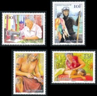 POLYNESIE 2015 - Yv. 1079 1080 1081 Et 1082 **  - Métiers Traditionnels (4 Val.)  ..Réf.POL24977 - Polynésie Française