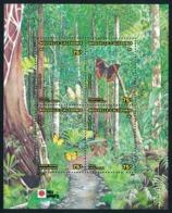 NOUV.-CALEDONIE 1991 - Yv. BF 11 **   Faciale= 2,51 EUR - Papillons En Forêt. Expo Philanippon'91  ..Réf.NCE24654 - Blocs-feuillets