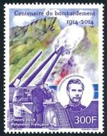 POLYNESIE 2014 - Yv. 1072 **  - 1ère Guerre Mondiale. Bombardement  ..Réf.POL24973 - Polynésie Française
