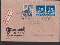 A20  /  Deutsches Reich  771 Paar MiF  /  Aschaffenburg - Germania