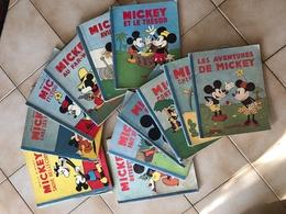 Collection 13 Albums Mickey  Hachette- Scénario :Gottfredson, Floyd Dessin :Gottfredson, Floyd Couleurs - Books, Magazines, Comics