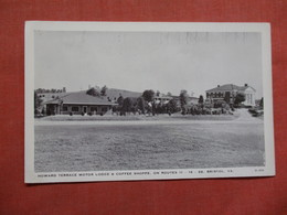 Howard Terrace Motor Lodge & Coffee Shop  Bristol  Virginia  Ref 3740 - Vereinigte Staaten