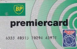 SCHEDE TESSERE SERVIZIO CARBURANTI BP PREMIERCARD  NON ATTIVA - Unclassified