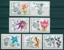 + 3969 Bulgaria 1991 Medicinal Plants  ** MNH /Heilpflanzen Pulsatilla Vernalis Pratensis Halleri Nigricans  Rhamnoides - Non Classificati