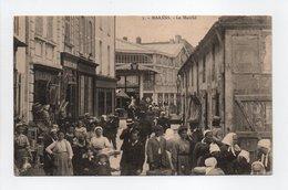 - CPA MARANS (17) - Le Marché 1917 (belle Animation) - Edition R. B. L. R. 1912 - - Autres Communes