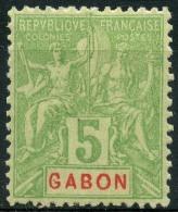 Gabon (1904) N 19 * (charniere) - Non Classés
