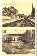 DURNAL   La Gare De Dorinne Et Le Bocq. - Assesse