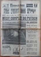 1961.Récit Complet Du Putsch.Franceville(Calvados) Pose 1° Pierre.Beaumont-sur-Oise,cambriolage.Premier Film De TINTIN. - Desde 1950