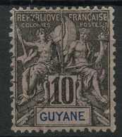 Guyane (1892) N 34 (o) - Usados
