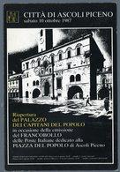 °°° Cartolina - Ascoli Piceno Palazzo Dei Capitani Del Popolo Nuova °°° - Ascoli Piceno